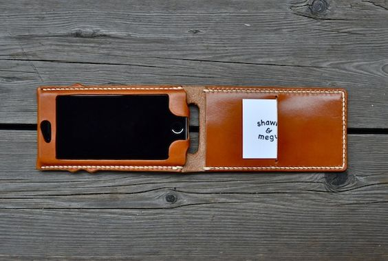 iphone 6s leather cover classic + custom : S&Mな日々