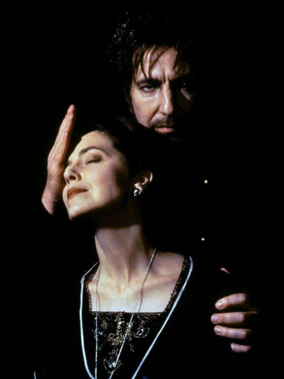 """1996 -- Greta Scacchi and Alan Rickman in """"Rasputin"""".:"""