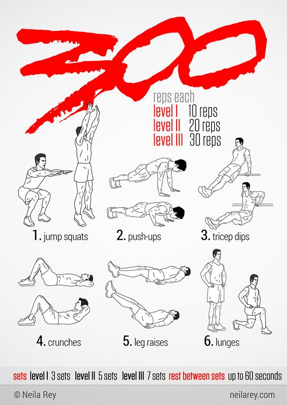 300 Workout this will be ambitious!!!!!