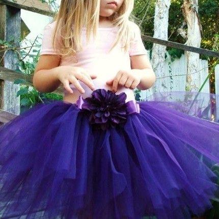 flowergirls tutus? Cobalt to match the BM dresses?