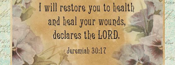 God is healer quotes and bible verses