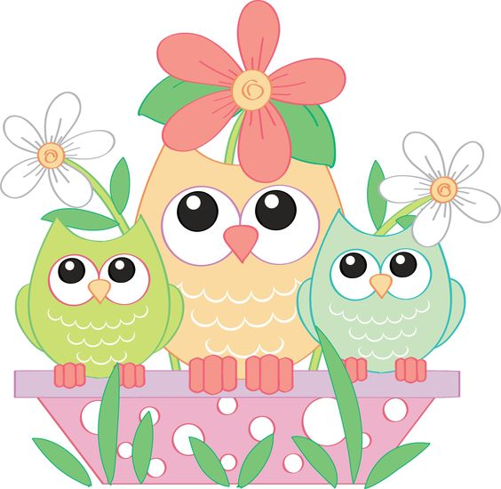 free easter owl clip art - photo #33