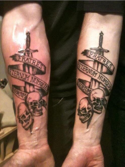 175 Best Brother Tattoos 2020 Matching Symbols Memorial Quotes