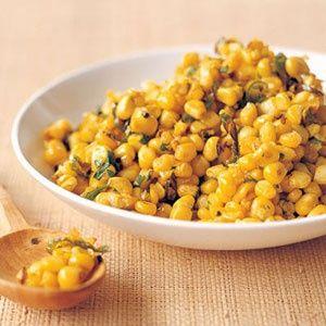 Corn with Mustard Seeds[ KomodoKamado.com ]