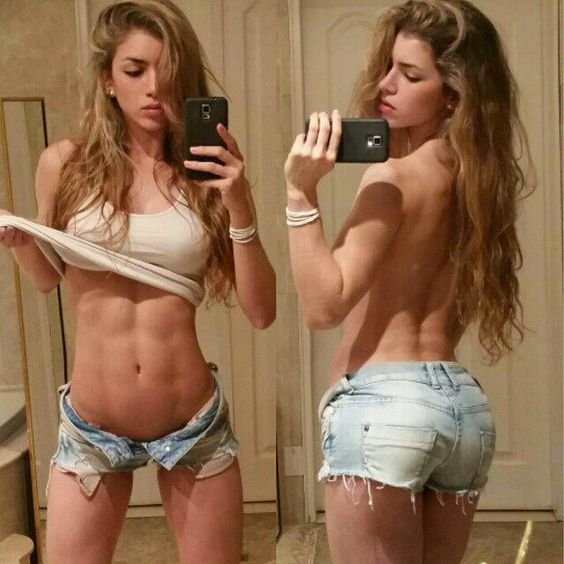 Anllela takes a hot ...