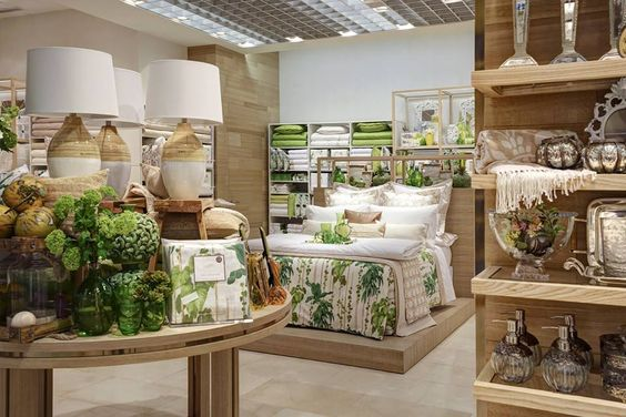 New zara home store milan interior visual merchandising for Table zara home