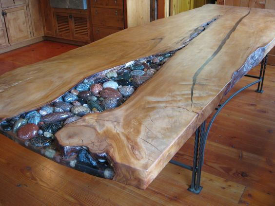 Kauri Tablecobbles Not Pebbles Woodworking