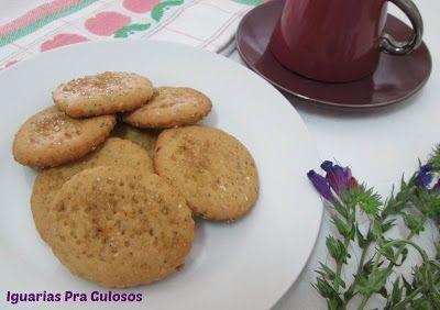 Iguarias p'ra Gulosos: Bolachas Crocantes