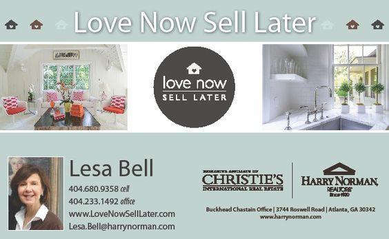 Love Now Sell Later Newsletter Header