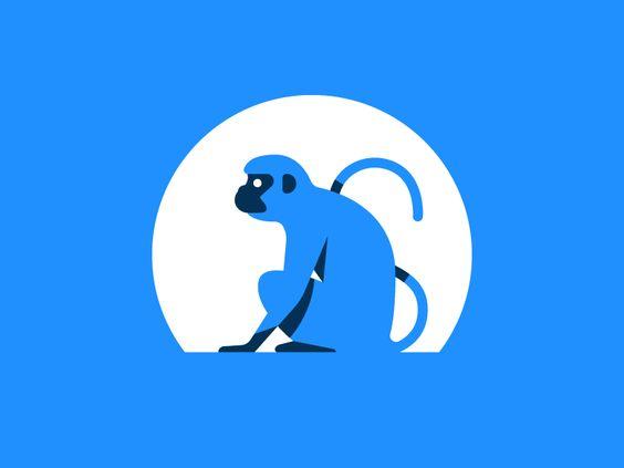 Monkey By Nick Slater Monkey Logo Pinterest Posts And Monkey