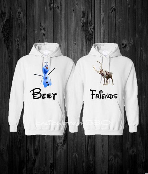 Bff matching hoodies