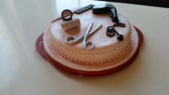Friseur Torte