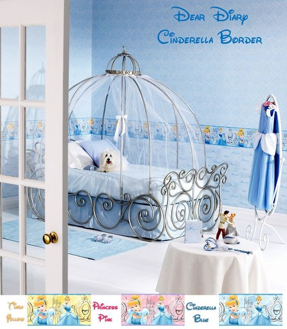 cinderella bedroom for your princess pup decor ideas wall decals quote cinderella coach star decal girl bedroom
