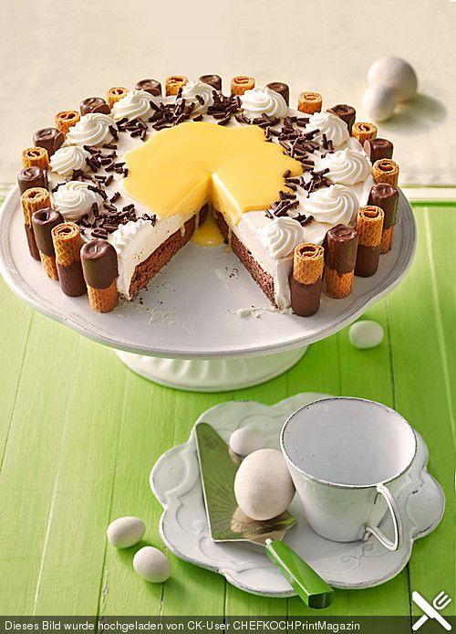 traumhafte eierlik r sahne torte backen dessert pinterest rezepte und torte. Black Bedroom Furniture Sets. Home Design Ideas