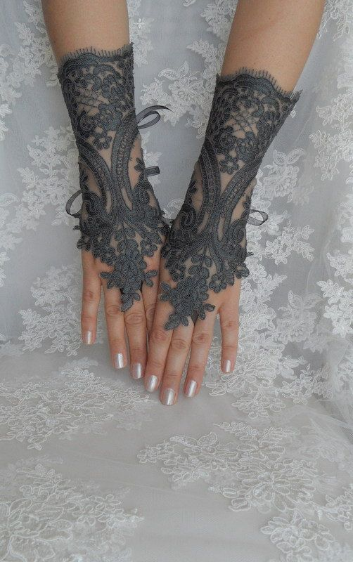 FREE SHIP Wedding gloves bridal gloves fingerless by WEDDINGHome, $30.00: