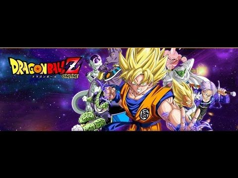 Dragon Ball Z Online Browser Game First Look Gameplay Español Dragon Ball Z Dragon Ball Gameplay