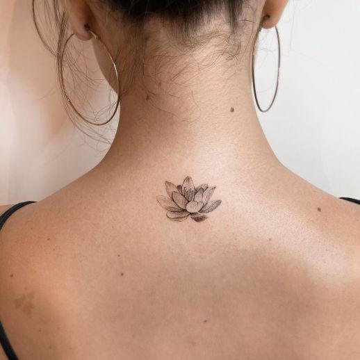 Pin En Nuca Tatuajes
