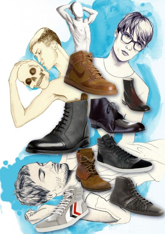 do i like the shoes or the graphic?!?!mmmmm...