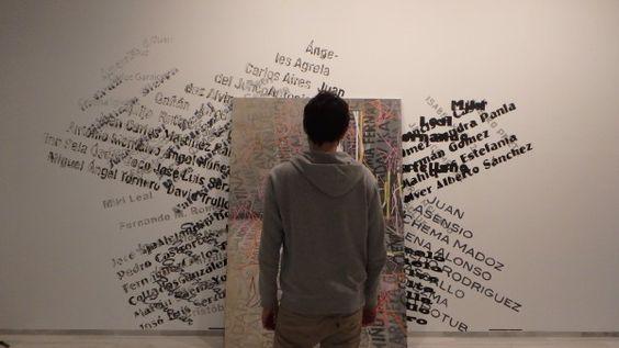 """@ChicoLopezJM #ArtInProgress """"...Nos acercamos a las piezas desde la intuición, lo que termina provocando, según el artista, una transformación, certera o no, del mensaje y solamente a través, -añade Chico López-, de la crítica de alguien notable, tenemos la certeza de haber comprendido. Es entonces, cuando nos olvidamos por completo de la experiencia del artista. En arte, la autoría de las ideas no siempre les otorga la veraz certificación""""."""