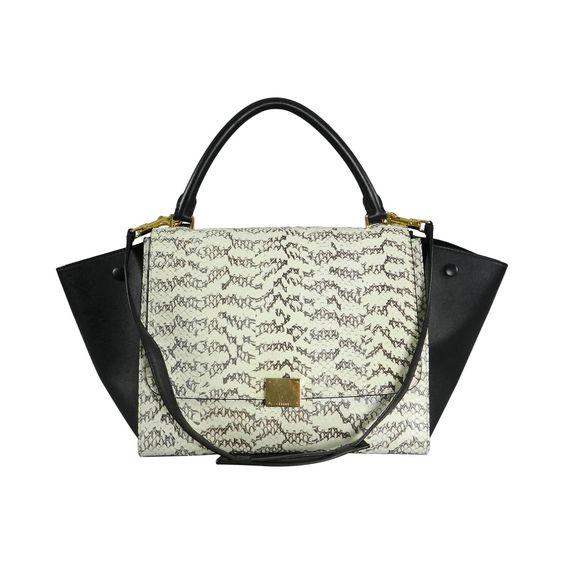 Celine Trapeze Python Small Bag | 1stdibs.com | Bags | Pinterest ...