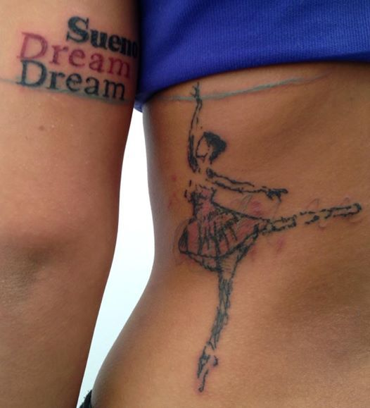 #dreamcatcher #dream #ballet #tattoo