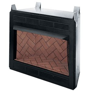 FMI Colonial Series 42 Inch Louver Face Vent Free Firebox
