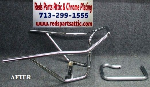 Before And After Restoration Photos In 2020 With Images Classic Cars Chrome Chrome Plating
