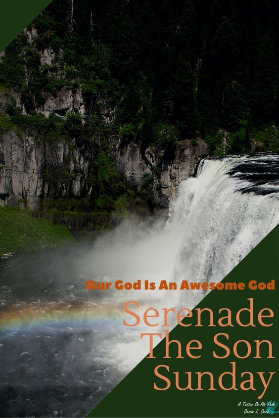 #SerenadeTheSonSunday AwesomeGod #Praise #Worship #Music #Songs