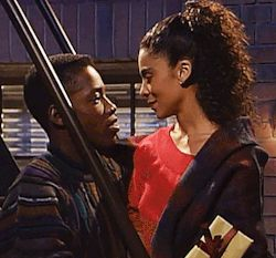 Dwayne and Whitley. A different world