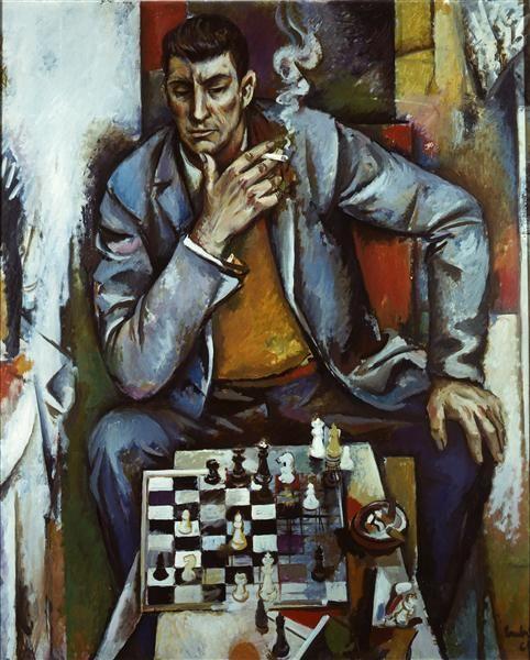 Schachspieler, Neubert, Willi: