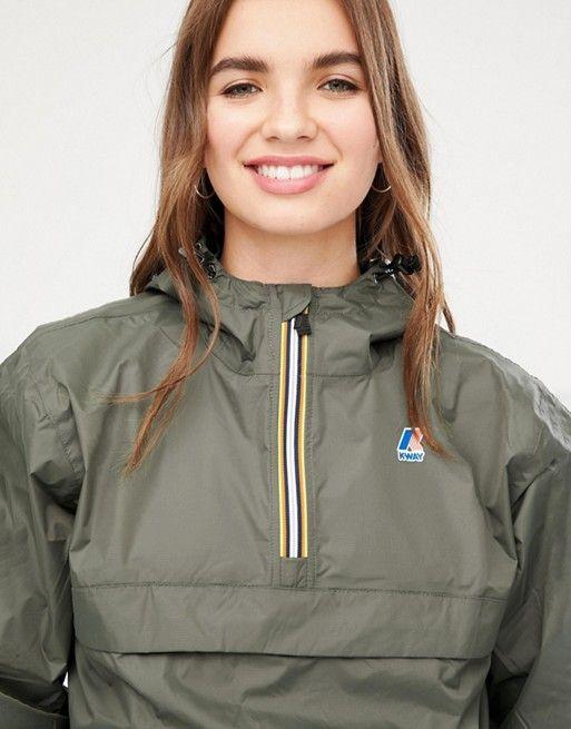 K Way | K-Way Leon 3.0 pullover waterproof jacket