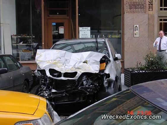 BMW X-Series X5 crashed