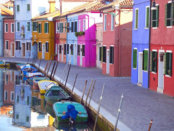 This is probably the most colorful place I have visited. Everywhere you look, houses make up all colors of the rainbow, providing many photo ops. And unlike the neighboring island of Murano, well known for its colorful glass, Burano is just as colorful, but not nearly as crowded. It is also known for its fine lace creations. A must-see for anyone visiting Venice!