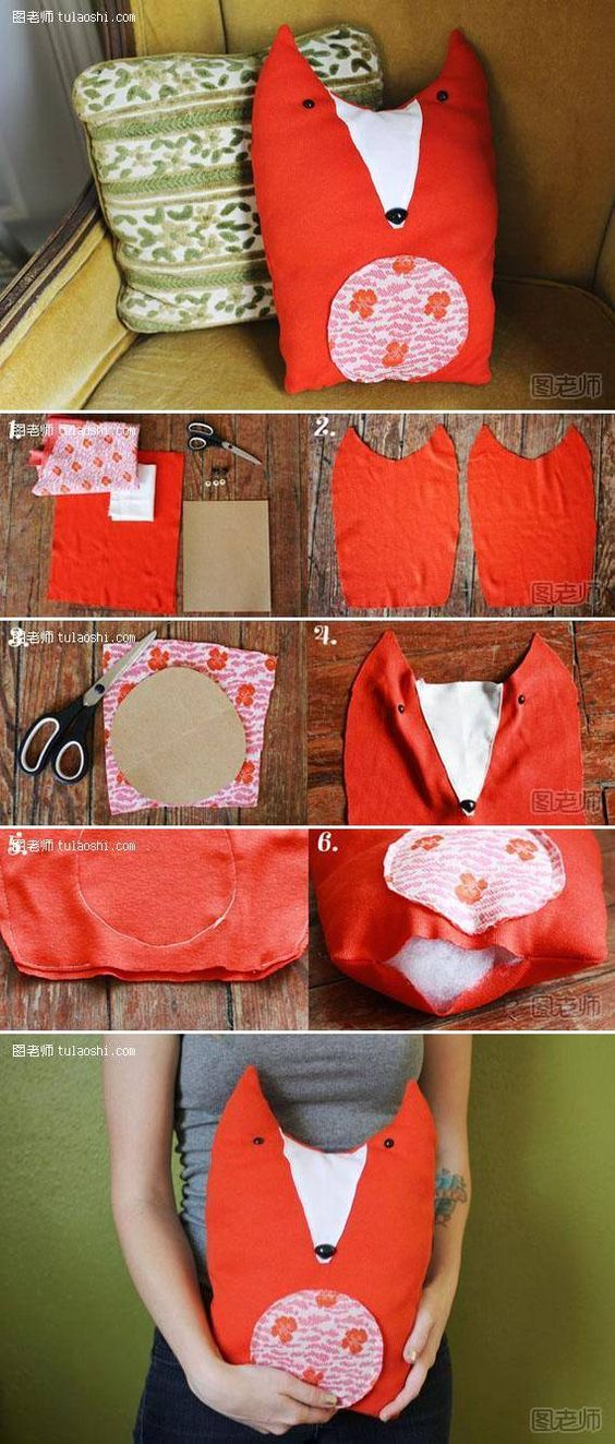 DIY Fabric Fox Toy