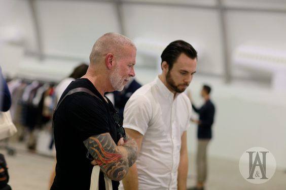 Nick Wooster and Sean Hotchkiss soaking up Project.