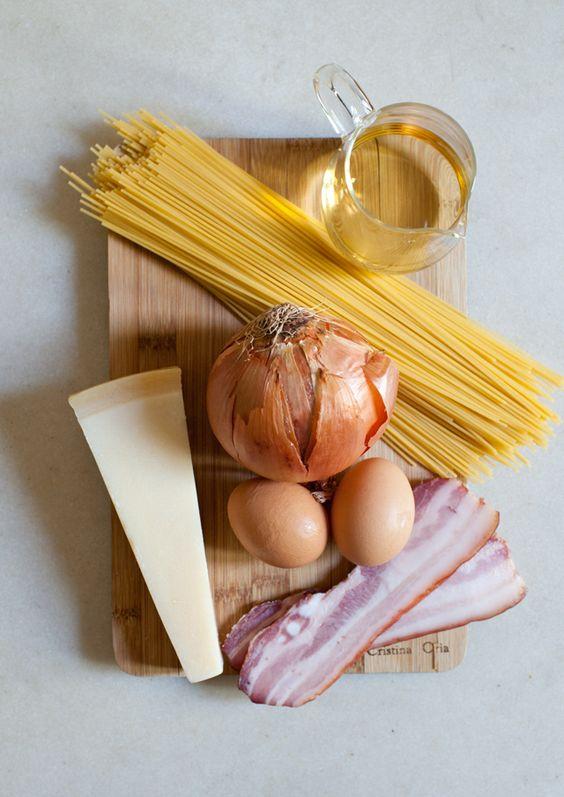 """Esta receta es facilísima pero noseporquéen casi todos los sitios la hacen mal, el primer y gran error es ponerle nata a la carbonara!!!En Italia esto es como un """"sacrilegio"""" sólo en los restaurantes muy malos yturísiticoslo preparancon nata. Ingredientes (por persona) –100g de espaguetis –Un cuarto decebolla(opcional) –1 vasito de vino blanco –2lonchas debacon, […]"""