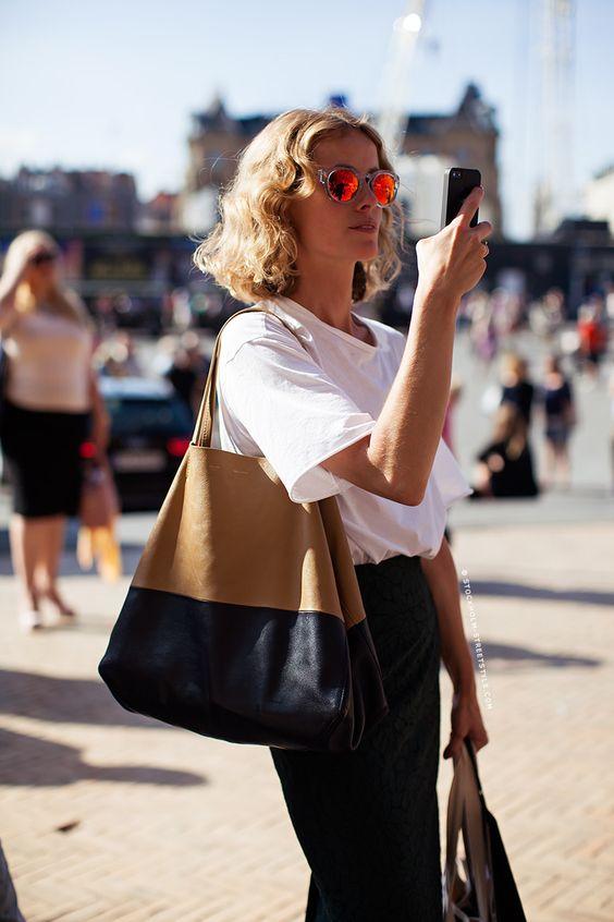 Style Inspiration für die warmen Sommertage. Die richtige Handtasche findet ihr bei uns: profibag.de: