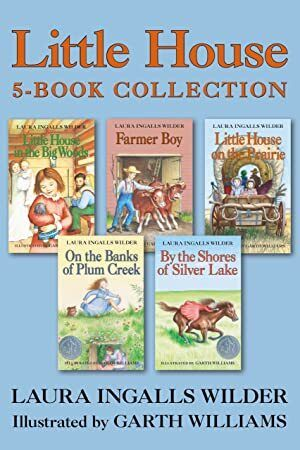 Free Read Little House 5 Book Collection Little House In The Big Woods Farmer Boy Little House On The Prairie On The B Farmer Boy Book Collection Got Books