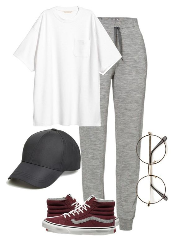 BTS JIMIN OUTFIT by jessy-693 on Polyvore featuring moda, Icebreaker, Vans and August Hat