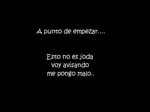 de atar - la vela puerca (lyrics).wmv - YouTube