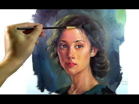 Painting Watercolor Portraits A Simple Approach From Photo To