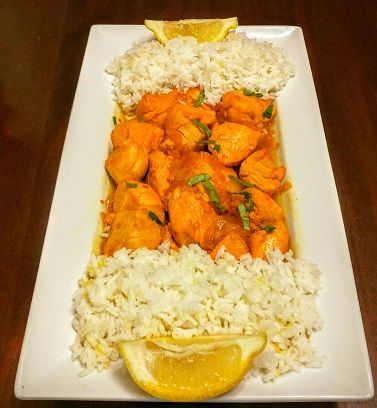 ... the spicy kick of African piri piri in a buttery lemon-garlic sauce