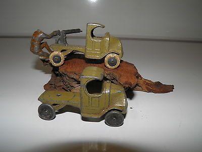 1930's TootsieToy Diecast Mack Coal Trucks