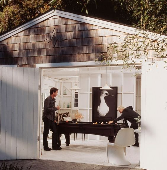 Garage Ideas, Pool Tables And Garage On Pinterest