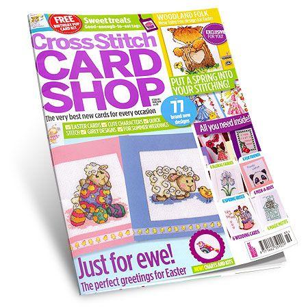 Cross Stitch Card Shop - Março/Abril 2013