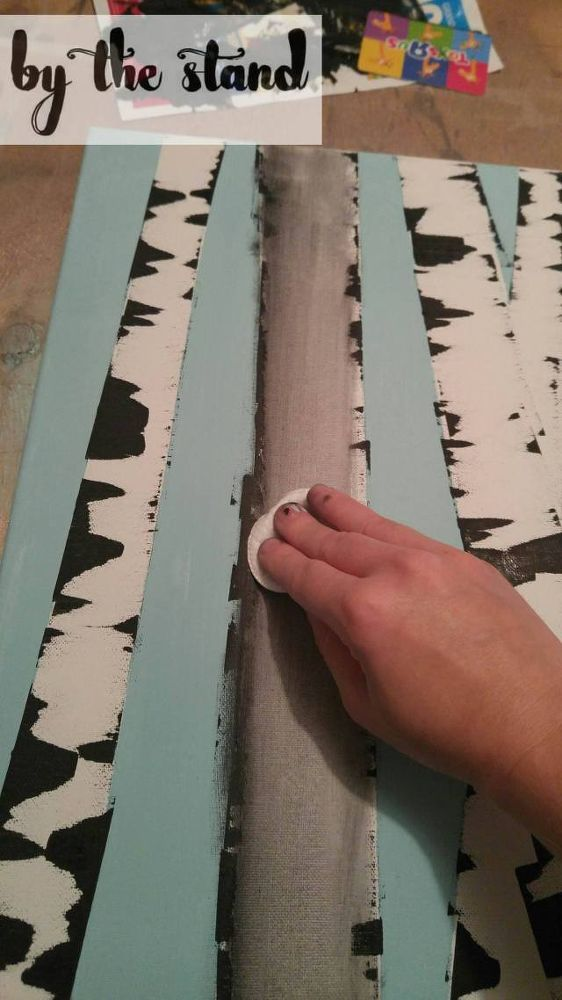 DIY Fun Challenge - Birch Log Painting
