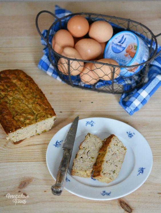 Cake au thon super protéiné et IG très très bas – Megalow Food