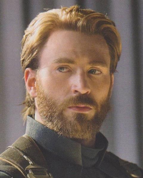 How To Get The Chris Evans Captain America Infinity War Haircut Chris Evans Haircut Chris Evans Beard Chris Evans