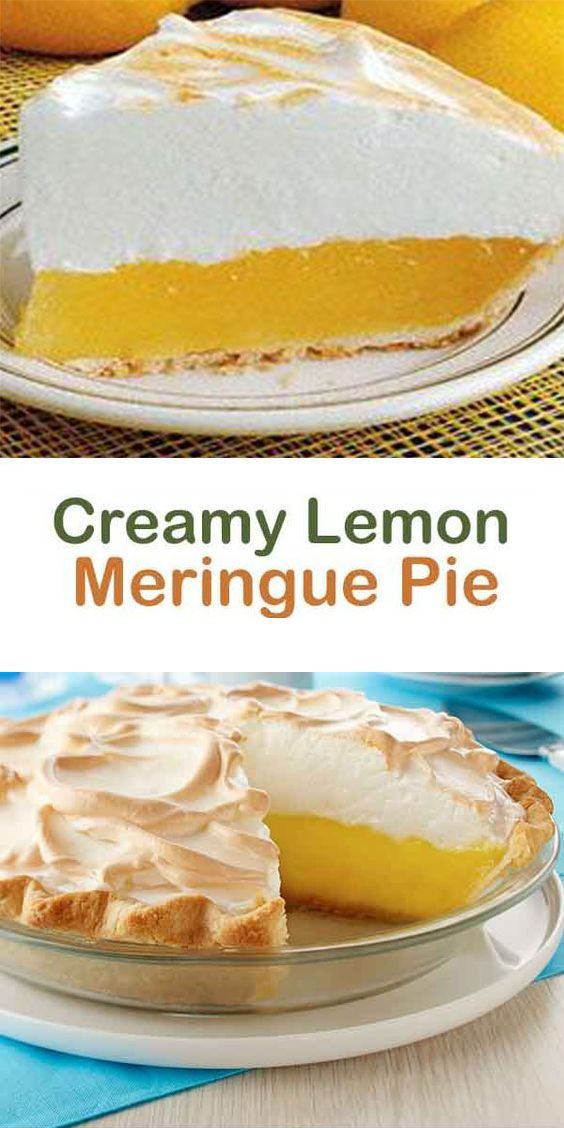 How To Make Magic Lemon Pie Easily Superfashion Us Lemon Meringue Pie Easy Lemon Pie Recipe Lemon Pie