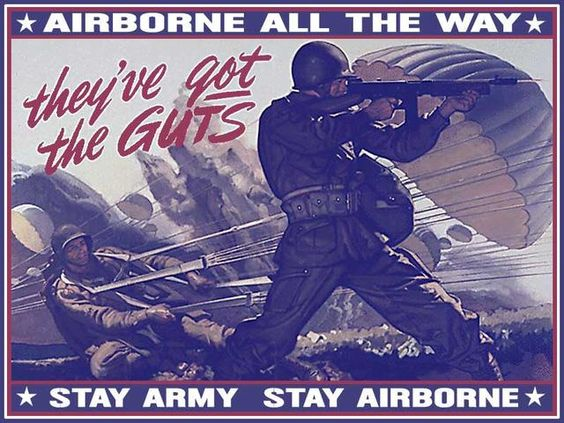82nd Airborne Posters | English 103 Section 20 Post 2